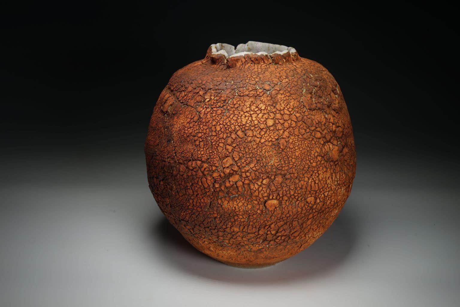 Tuscan earth vase