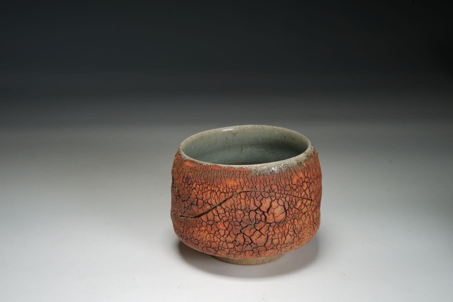 Textured surface Tea bowl /chawan