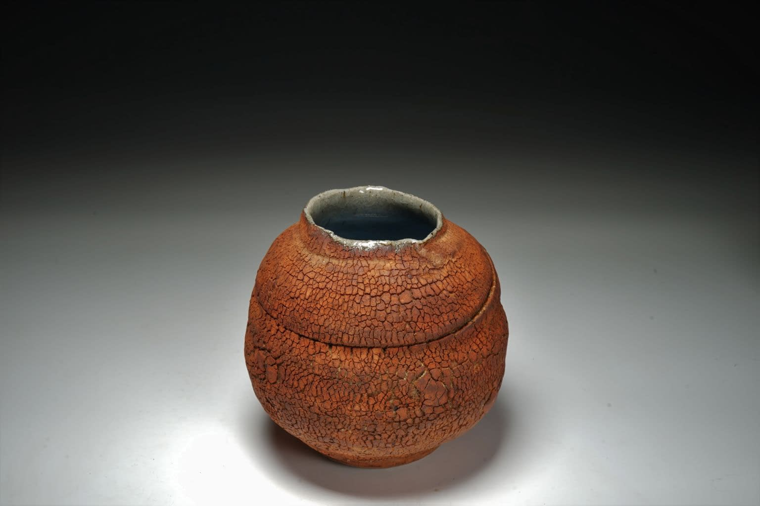 Earth texture small vase 3