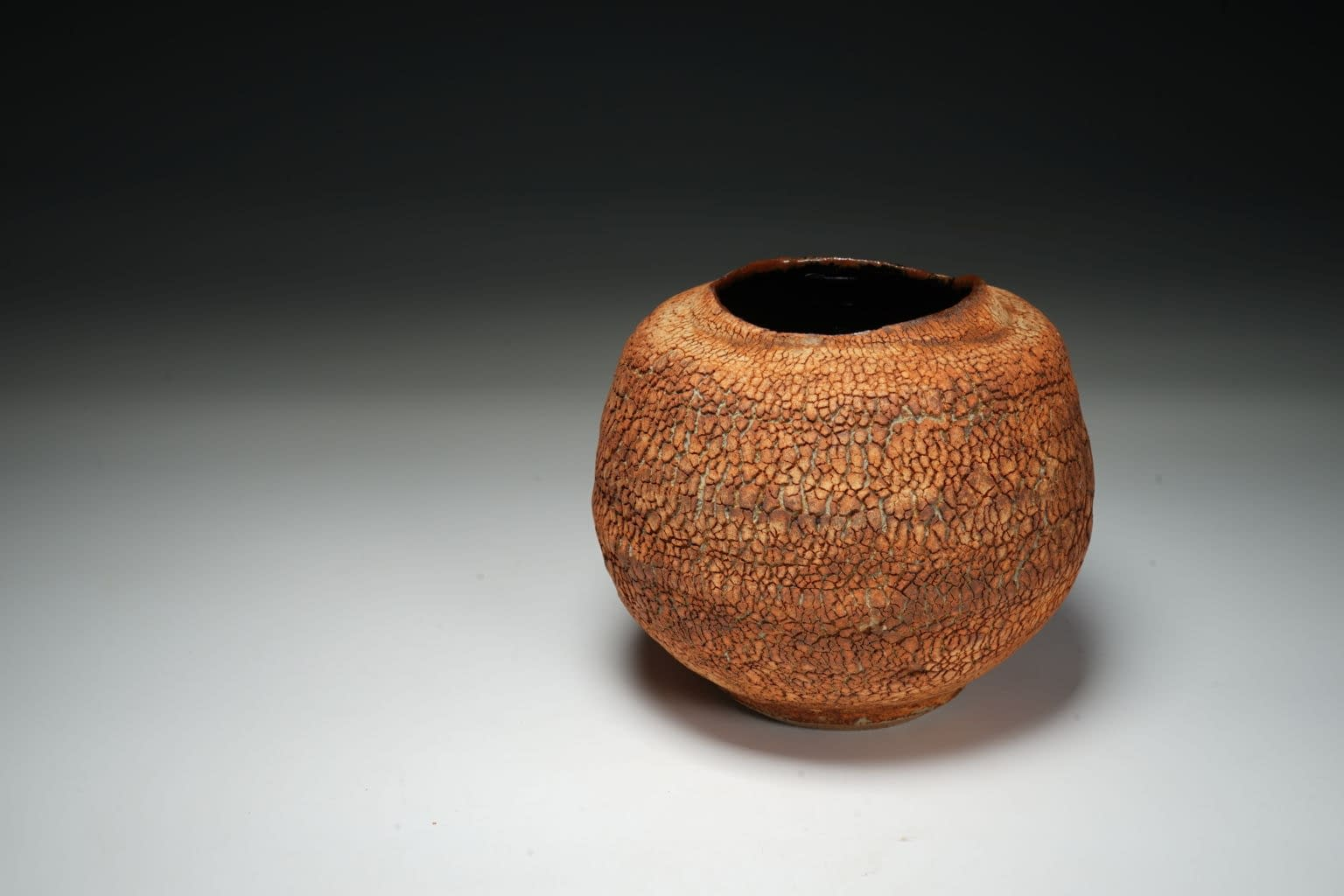 Earth texture small vase 7
