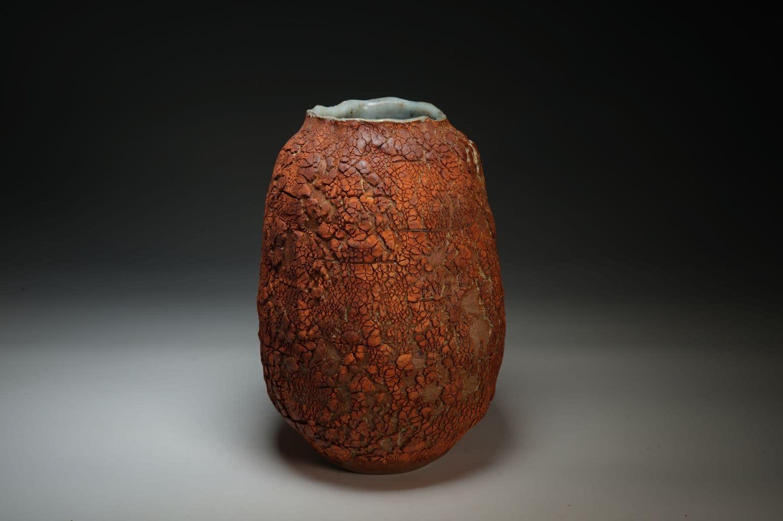 textured surface  vase 2021