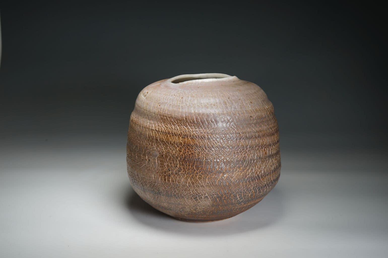 smooth crackled surfaced Vase