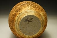 Stoneware vase with earth-textured surface (5)