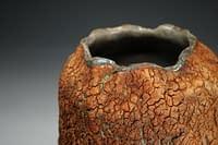 2021 Earth textured vase